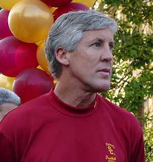 {{en|1=Pete Carroll at the USC 2005 National C...