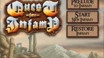 Hands On: Quest for Infamy 1